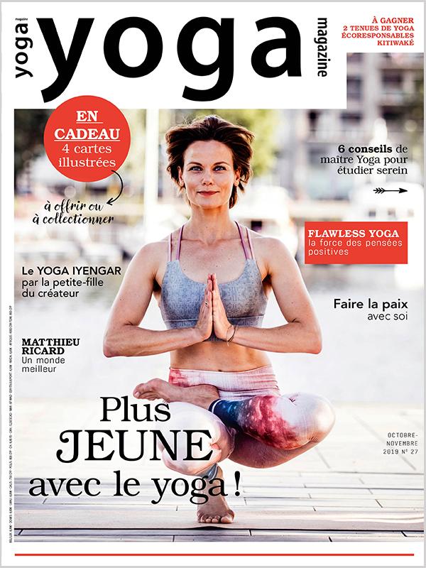 Plus jeune avec le yoga, c'est prouvé !